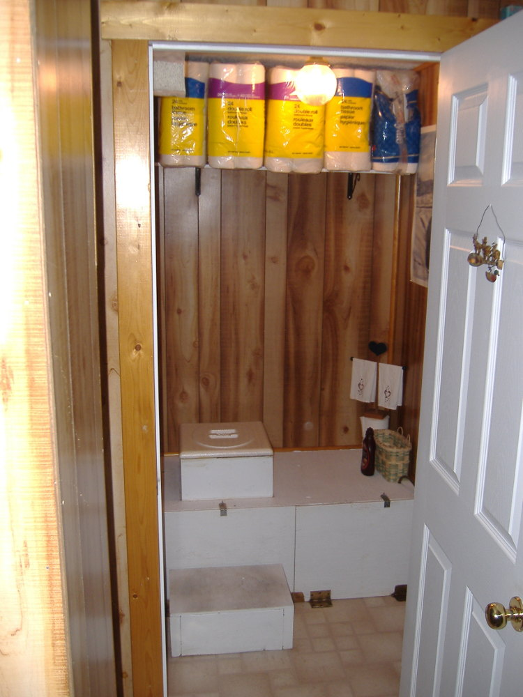 The Indoor Outhouse Off Grid And Free My Path To The